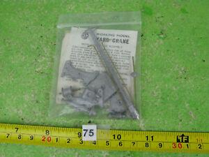 vintage gem white metal crane trackside model railway OO gauge n75