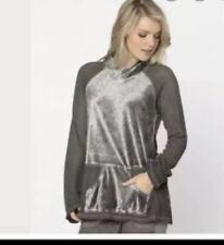 XCVI Lantana Top, Gray- NWT Size M