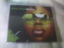 ANGIE STONE - BROTHA - 2 TRACK PROMO CD SINGLE