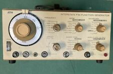 VINTAGE INTERSTATE  SIGNAL GENERATOR FG-34  Used,  more-or-less works