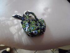Vera Bradley Cambridge mini Miller keychain