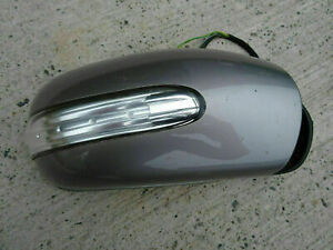 2004-2007 Mercedes C class W203 facelift right wing mirror Grey 723