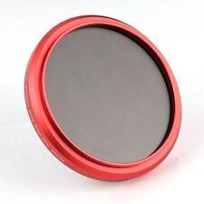 FOTGA 82mm ajustable Fader Variable Nd Filtro ND2 to ND400 Rojo Anillo
