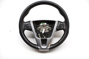 2013 VOLVO S60 T5 STEERING WHEEL BLACK LEATHER OEM 11 12 13