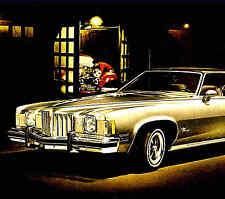 1975 PONTIAC GRAND PRIX BROCHURE -GRAND PRIX LJ & GRAND PRIX SJ 455
