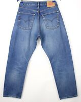 Levi's Strauss & Co Hommes 522 02 Jeans Jambe Droite Taille W34 L32 AVZ757