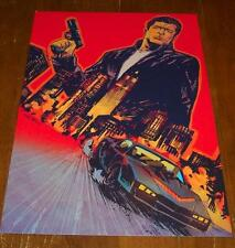 KNIGHT RIDER Michael Knight NYCC PROMO POSTER ART PRINT GARRY BROWN Lions Forge