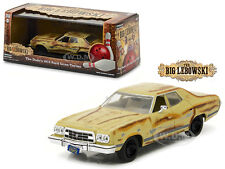 "THE DUDE'S 1973 FORD GRAN TORINO ""THE BIG LEBOWSKI"" MOVIE 1/43 GREENLIGHT 86495"