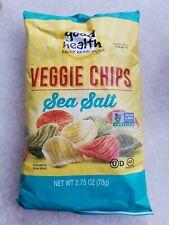 [2 x 2.75 oz] Good Health Natural Foods Veggie Chips Sea Salt Glutten Free Snack