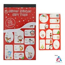 75+ Christmas Sticker Gift Present Tags - Cute Designs