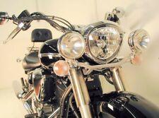 Yamaha XVS1300 Midnight Star Twinlight Set auxiliary headlight BY HEPCO & BECKER