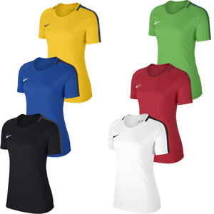 Nike Womens T Shirts Tee TShirts Dry Academy Ladies Gym Crew Neck Tops T-Shirt