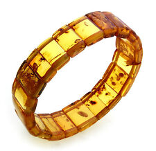 Women's Wrist Band real amber brown cognac out of the Baltic Sea big Quality AC6