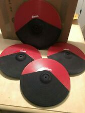 """E Drums-Ddrum cymbals- 14"""" Ride triple zone 12"""" crash dual zone,all chokeable"""