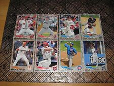 Lot of (14) 2013 Topps Update Baseball Camo SP Parallel SN# Cards All Different