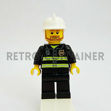 LEGO Minifigures - 1x cty022 - Fireman - Pompiere Omino Minifig Set 7241 7240