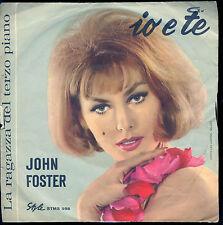 IO E TE - LA RAGAZZA DEL TERZO PIANO # JOHN FOSTER