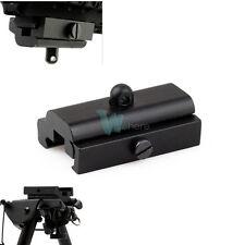 Bipod Sling Swivel Adapter Weaver Picatinny Rail Mount For Rifle Gun Black US #W