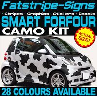 SMART CAR FORFOUR CAMO GRAPHICS STICKERS STRIPES DECALS BRABUS 1.0 1.3 1.5 W454