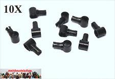 10X Lego® Technic 15100 Pin Verbinder 2 Fach m. Pinloch Schwarz Black NEU