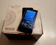 Sony Ericsson W595 Walkman-Active Blue-with original box (DISPLAY FAULTY)