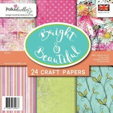 Polkadoodles Bright & Beautiful Birthday Mothers Day 6 x 6 Paper Pad Card Making