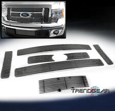 2009-2012 FORD F-150 KING RANCH/LARIAT UPPER + BUMPER LOWER BILLET GRILLE COMBO