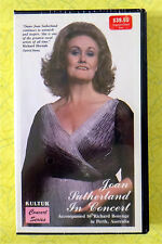 Joan Sutherland In Concert ~ New VHS Movie ~ Classical Opera Music Singer Video