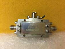 Avantek ACT20-212-1, 10 to 2000 MHz, 34 dB Gain, 6 dB Noise, SMA (F) Cascade Amp