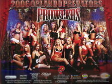 2006 Orlando Predators Cheerleaders Arena Football Promo Team Photo Card