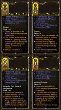 Diablo 3 ros PS4 [ ] softcore-anneau de mode Dieu modded bundle!