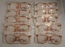 Vintage 10 Pc. Lot ELAN 7001 Tan 55/16 Eyeglass Frame New Old Stock  #391