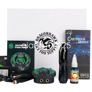 Professional Tattoo Kit Set Rotary Machine Pen Power Ink Needles Accessories