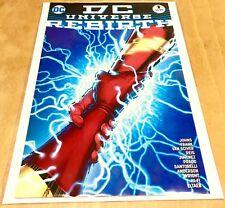 DC Universe Rebirth #1 1st Print Regular Gary Frank Cover 2016 One Shot RARE