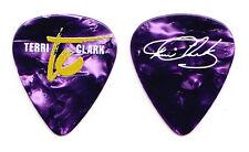 Terri Clark Signature Purple Pearl Guitar Pick - 2016 Tour