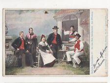 Badische Volkstrachten Aus Dem Ried Schutterwald 1905 Postcard Germany 395a