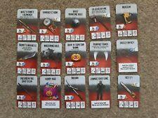 Zombicide - Custom Set *NEW* Pimp Deck 15 x Cards Modern