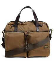 Filson Dryden Briefcase 49878 Whiskey 20049878 Fits Laptops up to 15""