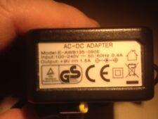 """ALIMENTATORE """"GS"""" AC-DC ADAPTER MOD. E-AWB135-090E 9V 1,5 A"""