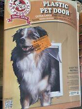 "New listing Ideal Extra Large Original Frame Pet Dog Plastic Door 10.5""x15"" Usa"