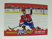 2019-20 UD Credentials Alex Ovechkin Hot Dog! 13th All-Time SP Case Hit Insert