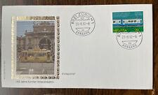 Switzerland #729 Fdc Zurich Tram Centenary