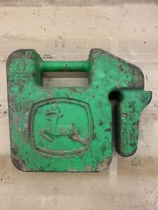 JOHN DEERE 40 LB Quick Tatch SUITCASE WEIGHT R66949 Lawn Tractor Implement LOGO