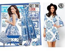 V-Neck Plus Size Geometric Mini Dresses for Women