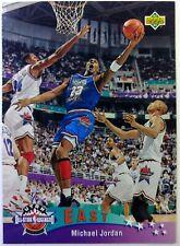 Italian: 1992 93 Upper Deck All Star Weekend Michael Jordan #5, Bulls, HOF