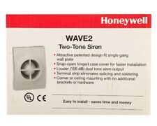 Honeywell WAVE2 Inside Two Tone 106 dB Siren.  Brand New in Box. Free Shipping.