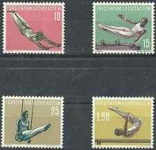 Timbres Sports Gymnastique Liechtenstein 315/8 ** lot 3992 - cote : 50 €
