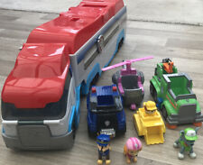PAW Patrol Paw patroller Rocky , Skye And Chase Figures And Cars Bundle