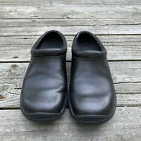 Merrell Jungle Primo Black Women Clogs Shoes Size 6 Leather Slip On Mules