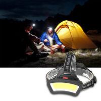 LED Stirnlampe Kopflampe Lampen Einstellbar Wasserdicht Beleuchtung Camping DE